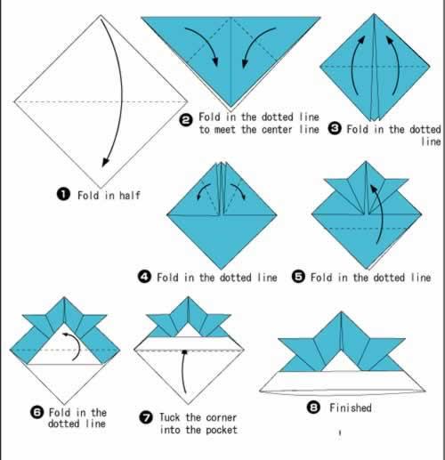 Samurai origami